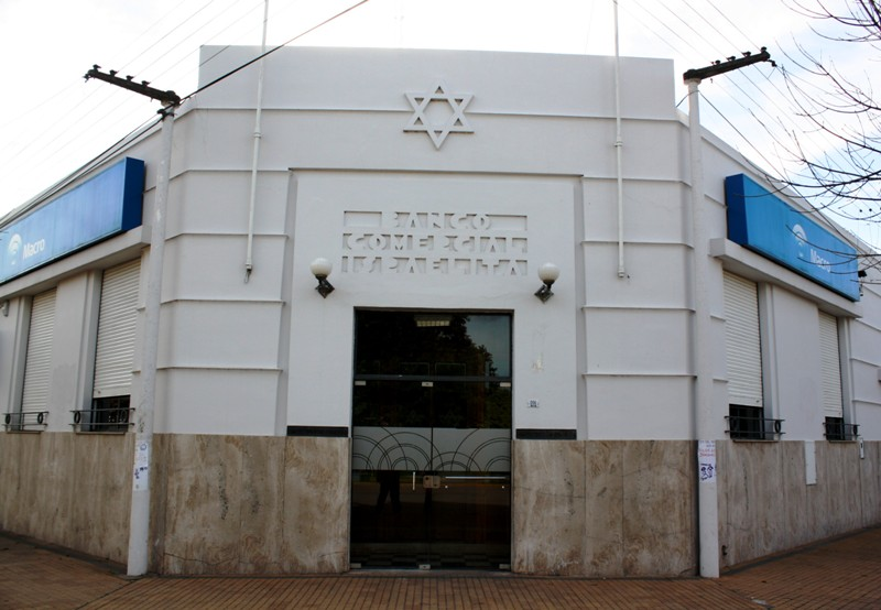 Banco Commercial Israelita, Moisés Ville, Santa Fe Province, Argentina