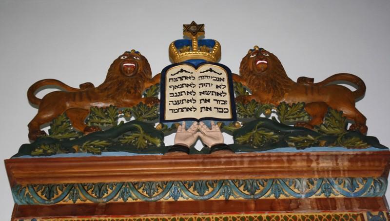 Holy Ark, Brener Synagogue, Moisés Ville, Santa Fe Province, Argentina