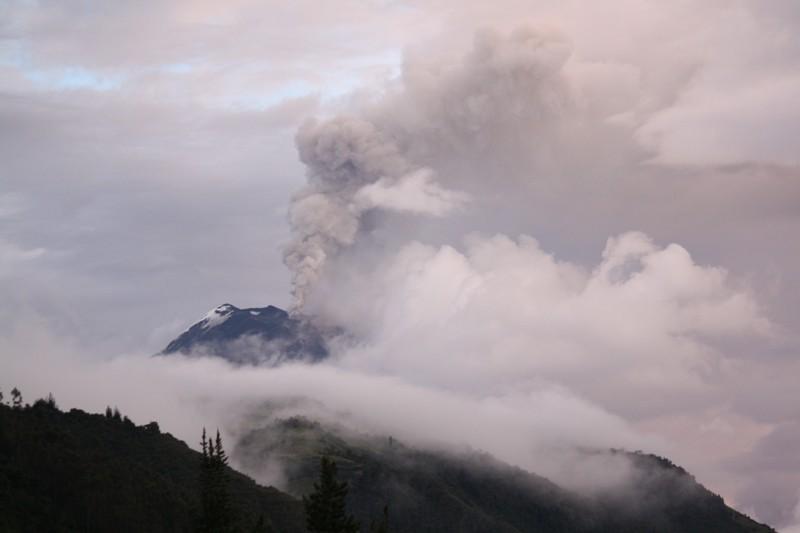 Volcán Tungurahua,  Cordillera Oriental, Ecuador