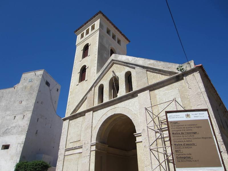 Church of the Assumption, Mazagan, El Jadida, Morocco