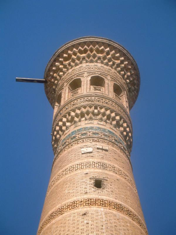 Minaret, Vobkent, Uzbekistan
