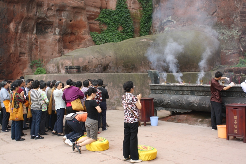 The Grand Buddha, Leshan, Szechuan Province