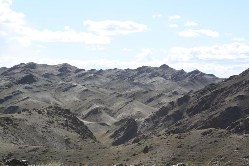 Climb to the Petroglyphs in the Gobi, Mongolia
