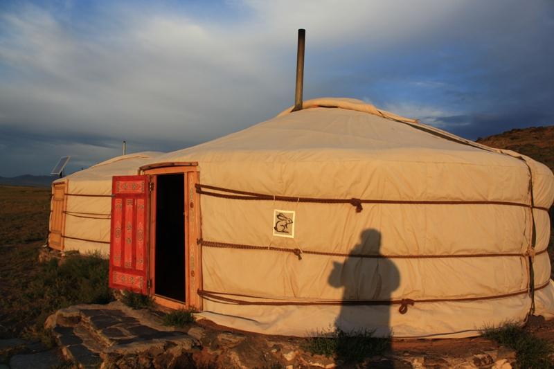 Dawn, Three Camel Lodge, The Gobi, Mongolia