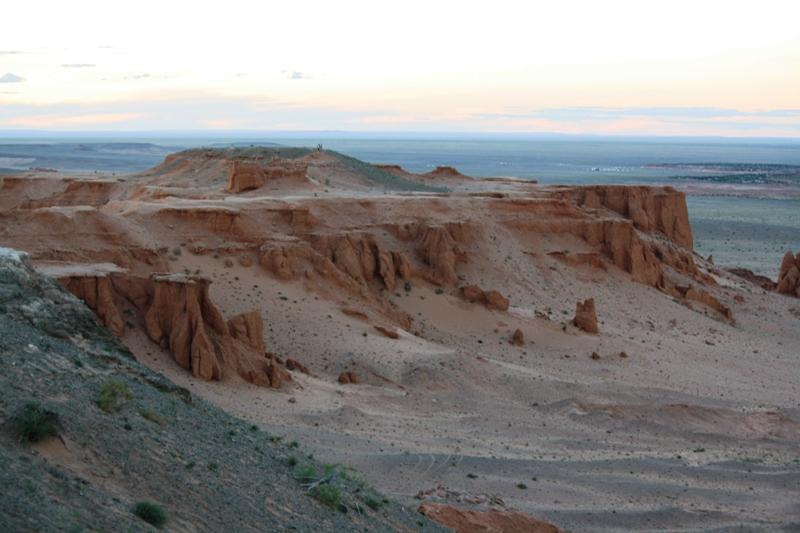 Flaming Cliffs, The Gobi. Mongolia