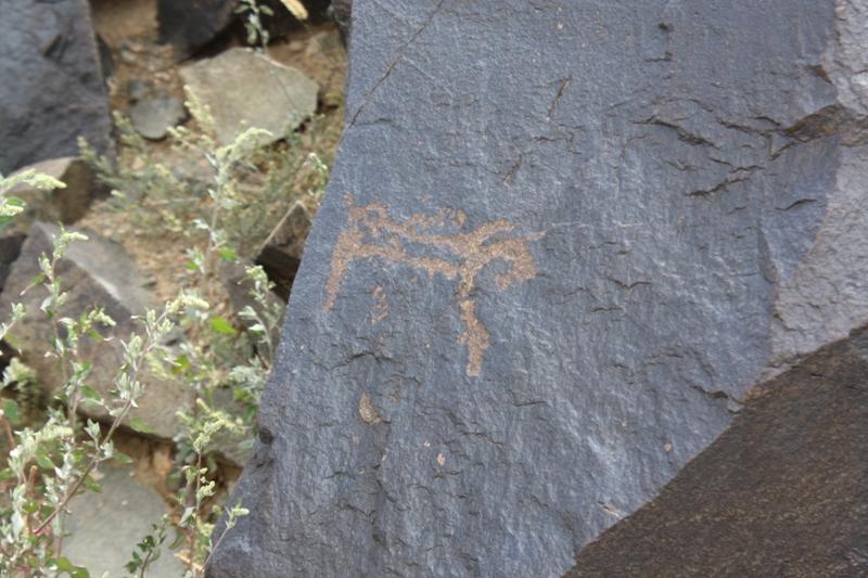 Petroglyphs, The Gobi, Mongolia
