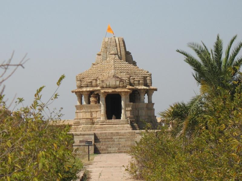 Chittorgarh Fort. Rajasthan, India