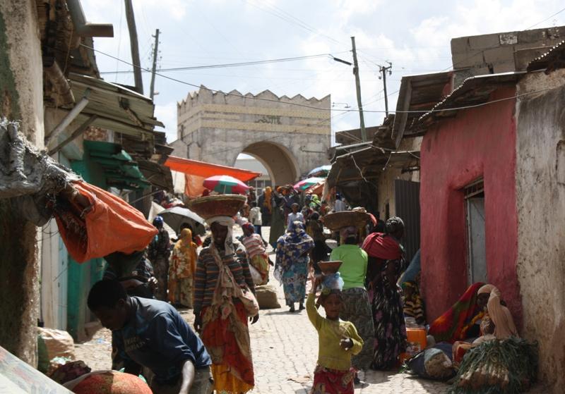 Choa Gate, Harar, Ethiopia