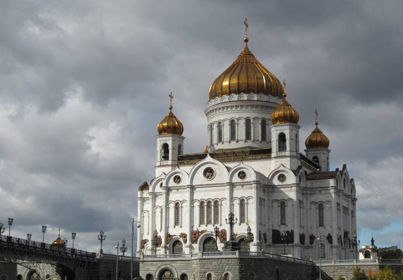 Cathedral of Christ The Savior, Moscow