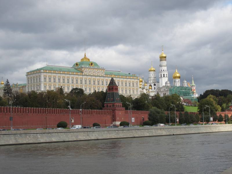 Moscow River, The Kremlin
