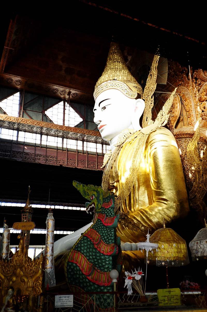 Ngahtatgyi Paya, Yangon, Myanmar