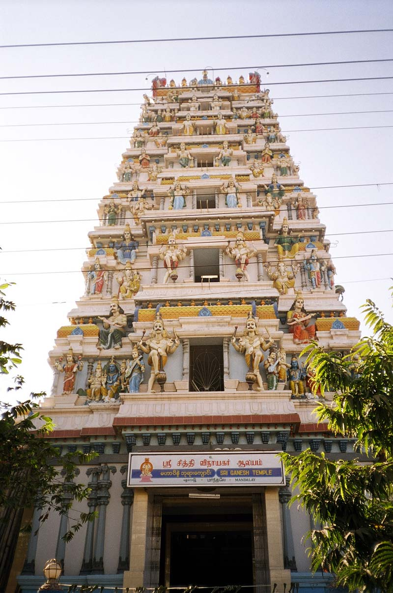 Hindu Temple, Yangon, Myanmar