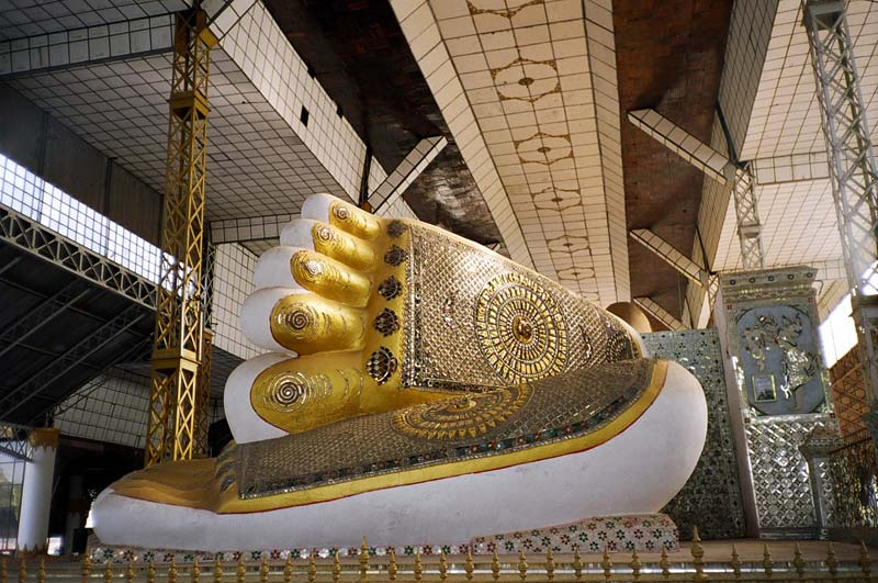Shwethalyaung Buddha, Bago, Myanmar