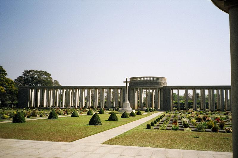 Htaukkyant War Cemetery. Bago, Myanmar