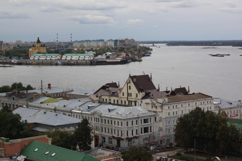 The Volga and the Oka, Nizhny Novgorod, Russia