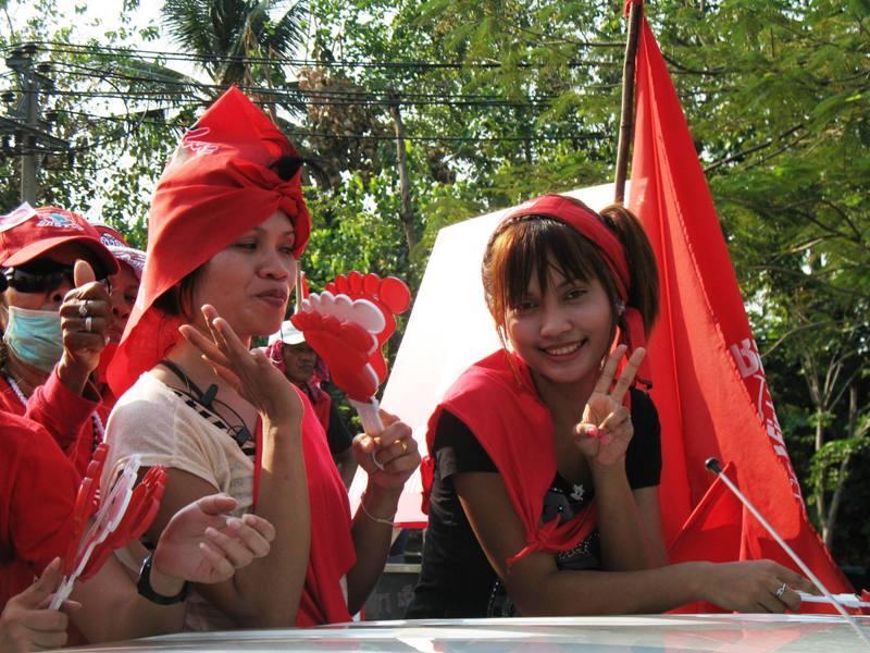 Red Shirts Demonstration, Bangkok, March 2010