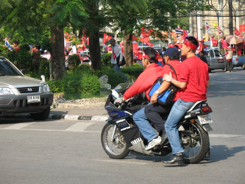 Red Shirts Demonstration, March 2010