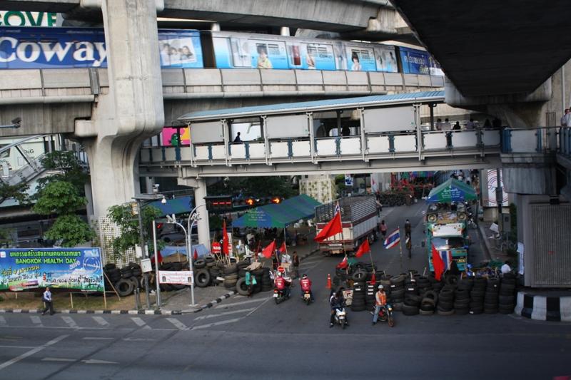 Siam Square, Bangkok, Red Shirts Demonstration, March 2010