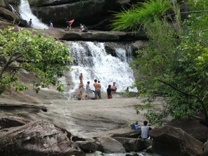 Waterfalls Parks, Isan, Thailand