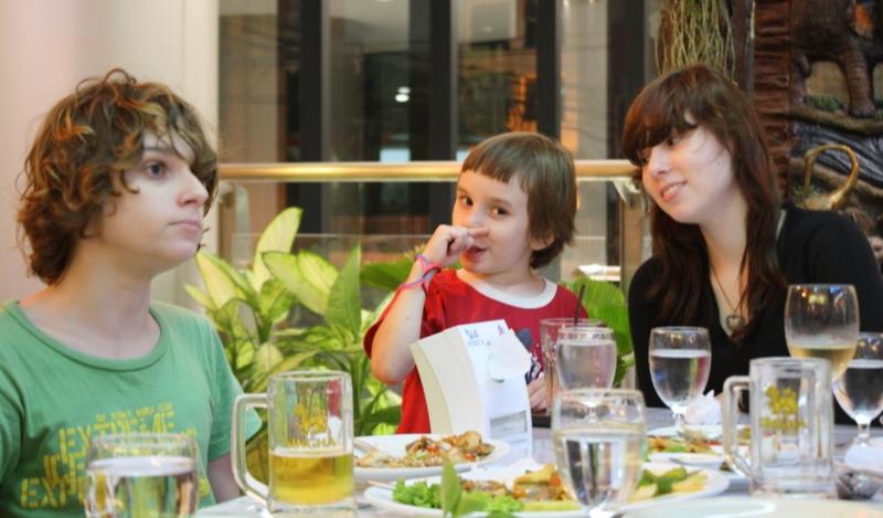James, Sean, Erin, Birthday Party, Bangkok, 2010