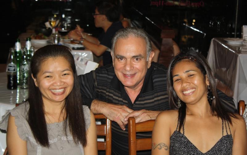 Noy, Jan, Nai, Birthday Party, Bangkok, 2010