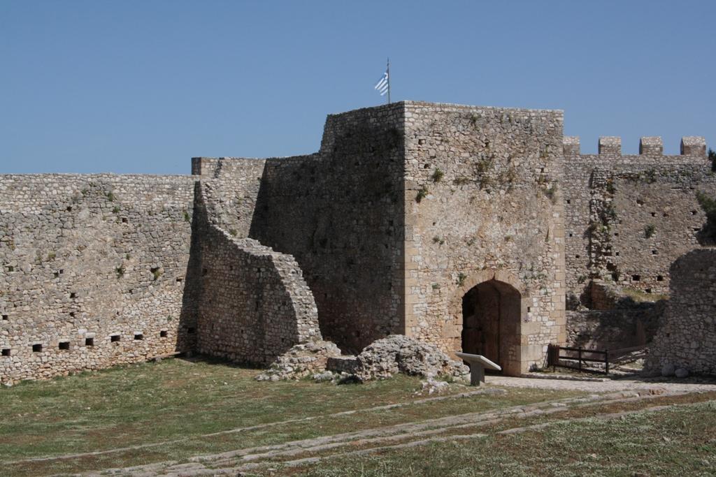 Chlemoutsi Castle, Peloponnese, Greece