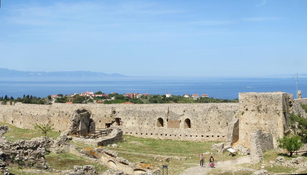 Chlemoutsi Castle. Peloponnese, Greece