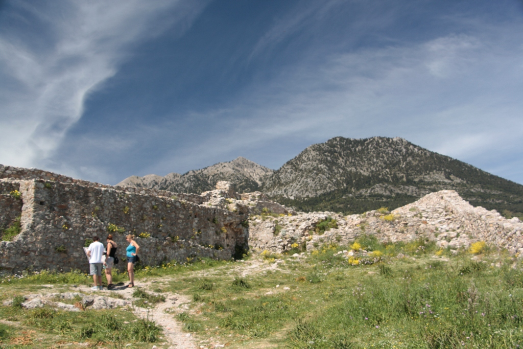 Mistras, Peloponnese, Greece