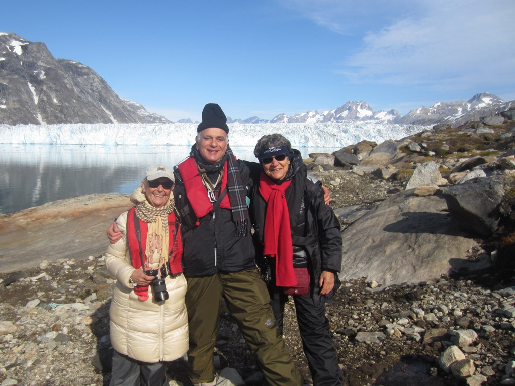 Tour Guides and Jan, Glacier, Greenland