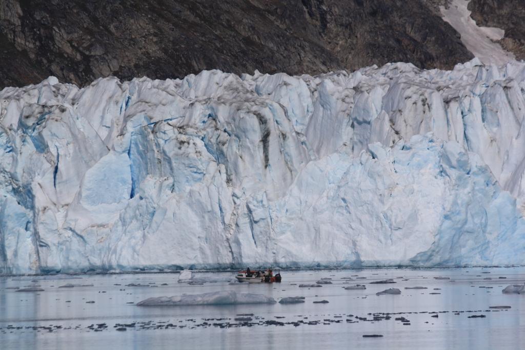 My Boat, Glacier, Greenland
