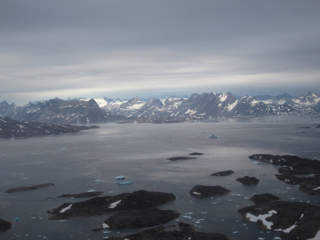 Greenland Helicopter Ride