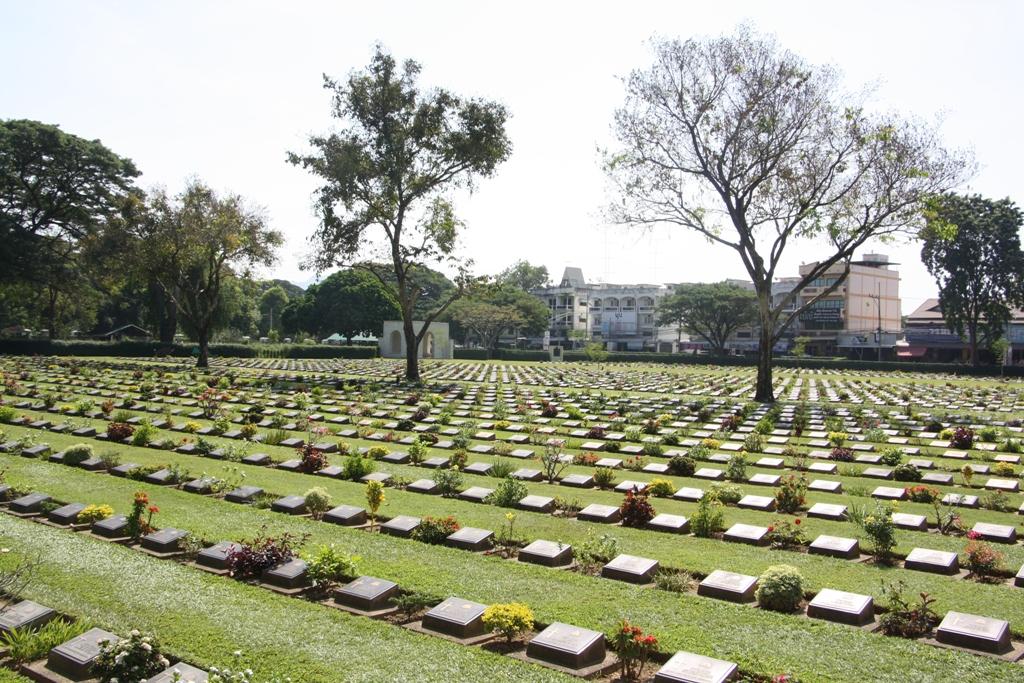 Allied War Cemetery, Kanchanaburi