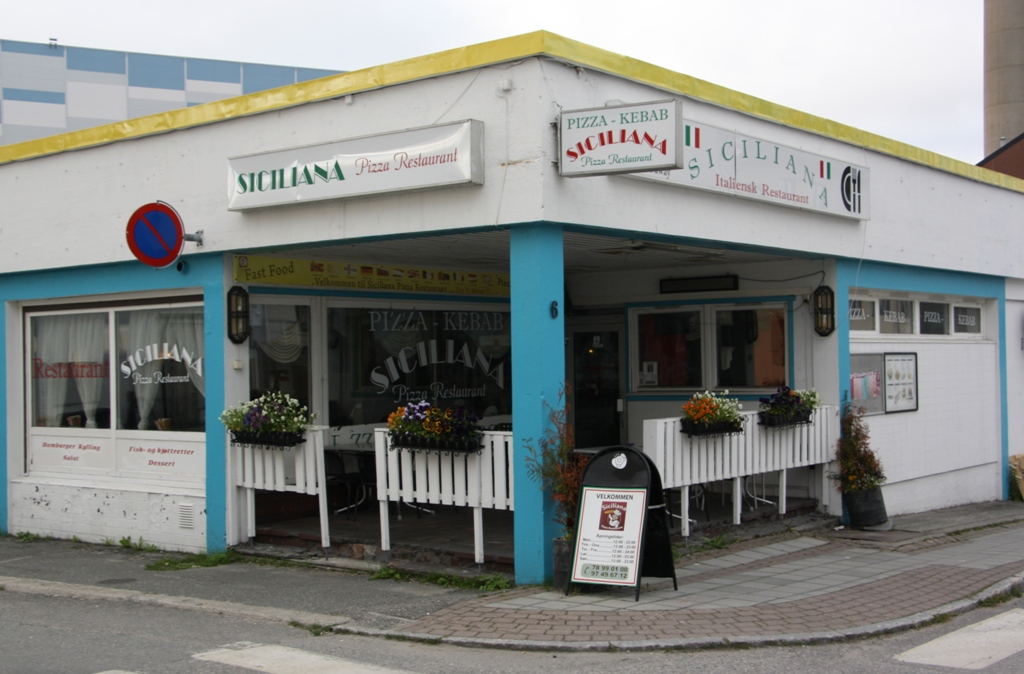 Siciliana Pizza, Kirkenes, Norway