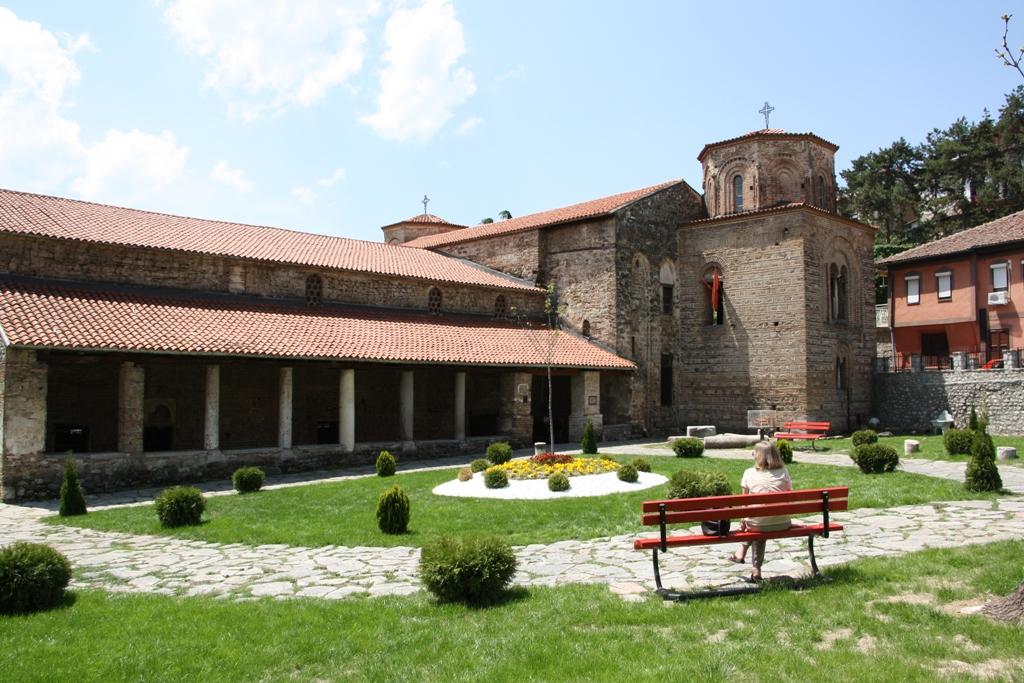 Church of St. Sophia, Old Town, Lake Ohrid, Macedonia