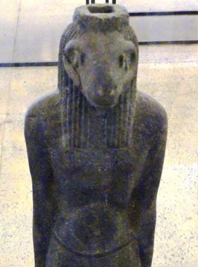 Aman, god of Jebel Barkal, Sudan National Museum, Khartoum