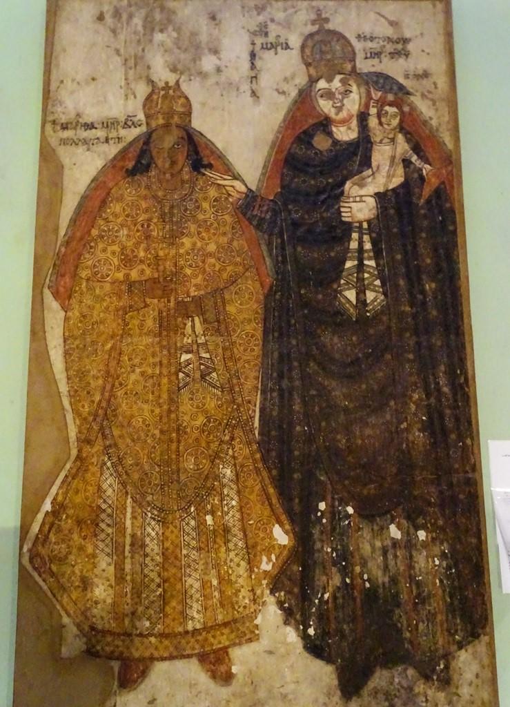 Coptic Christian Wall Painting, Sudan National Museum, Khartoum