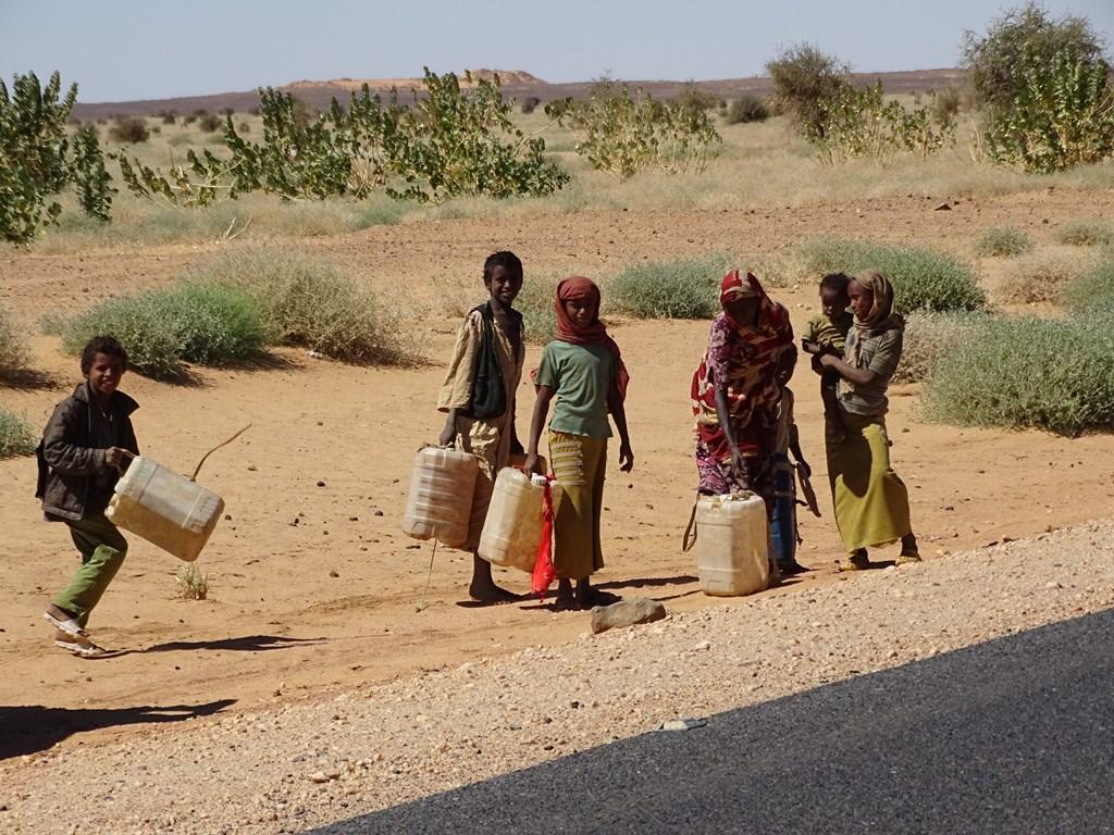 Desert Well, Sudan