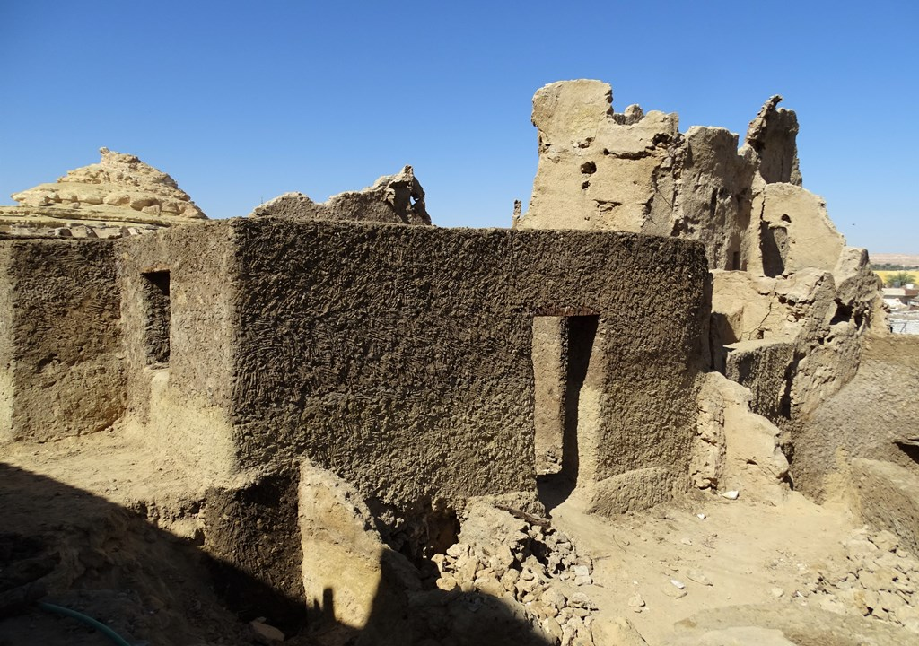 The Old City and Fortress of Siwa, Western Desert, Egypt