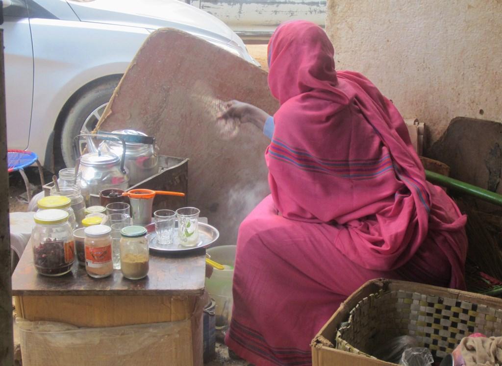 Tea Lady, Khartoum, Sudan