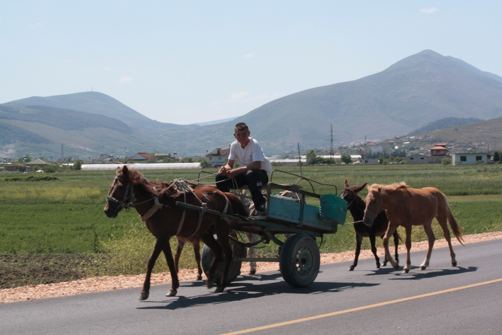 On the Road, Southern Albania