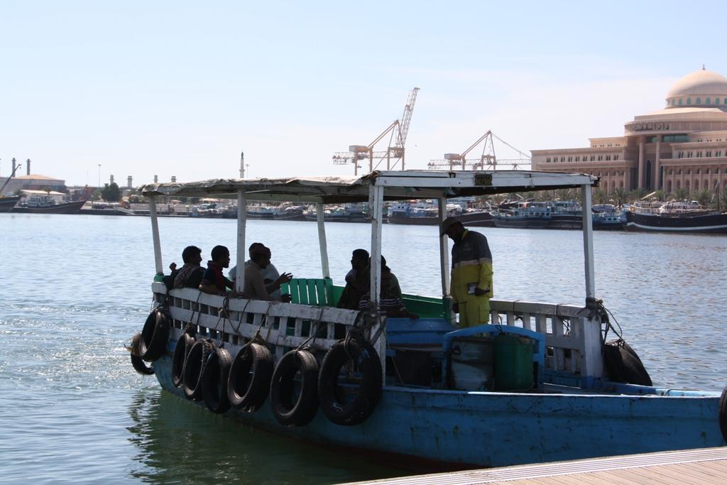 Commuter Boat, Dubai Corniche